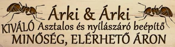 Bútorasztalos, Épületasztalos - Árki & Árki