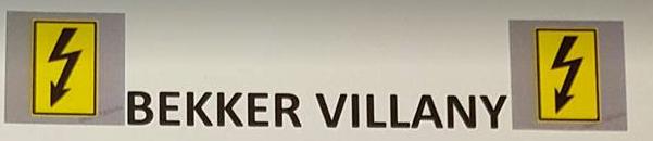 Villanyszerelés NON-STOP Fejér megye - Bekker Villany Kft.