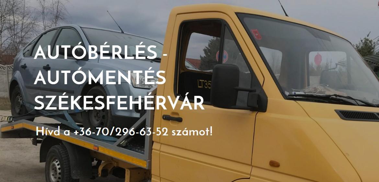 Autómentés, Autóbérlés Székesfehérvár T+T Car