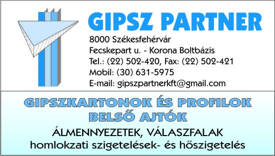 GIPSZ PARTNER Kft.